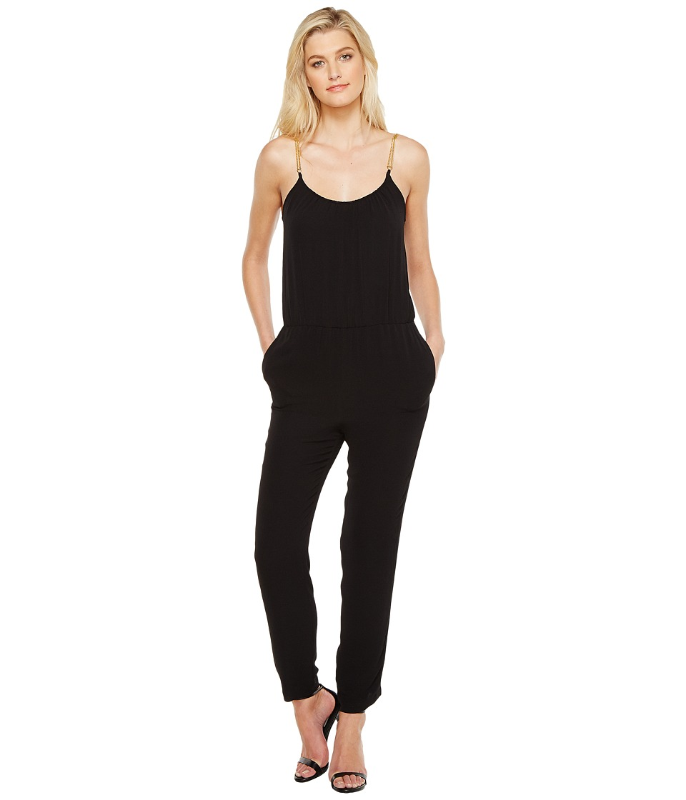 MICHAEL Michael Kors - Chain Detail Jumpsuit (Black) Women's Jumpsuit & Rompers One Piece