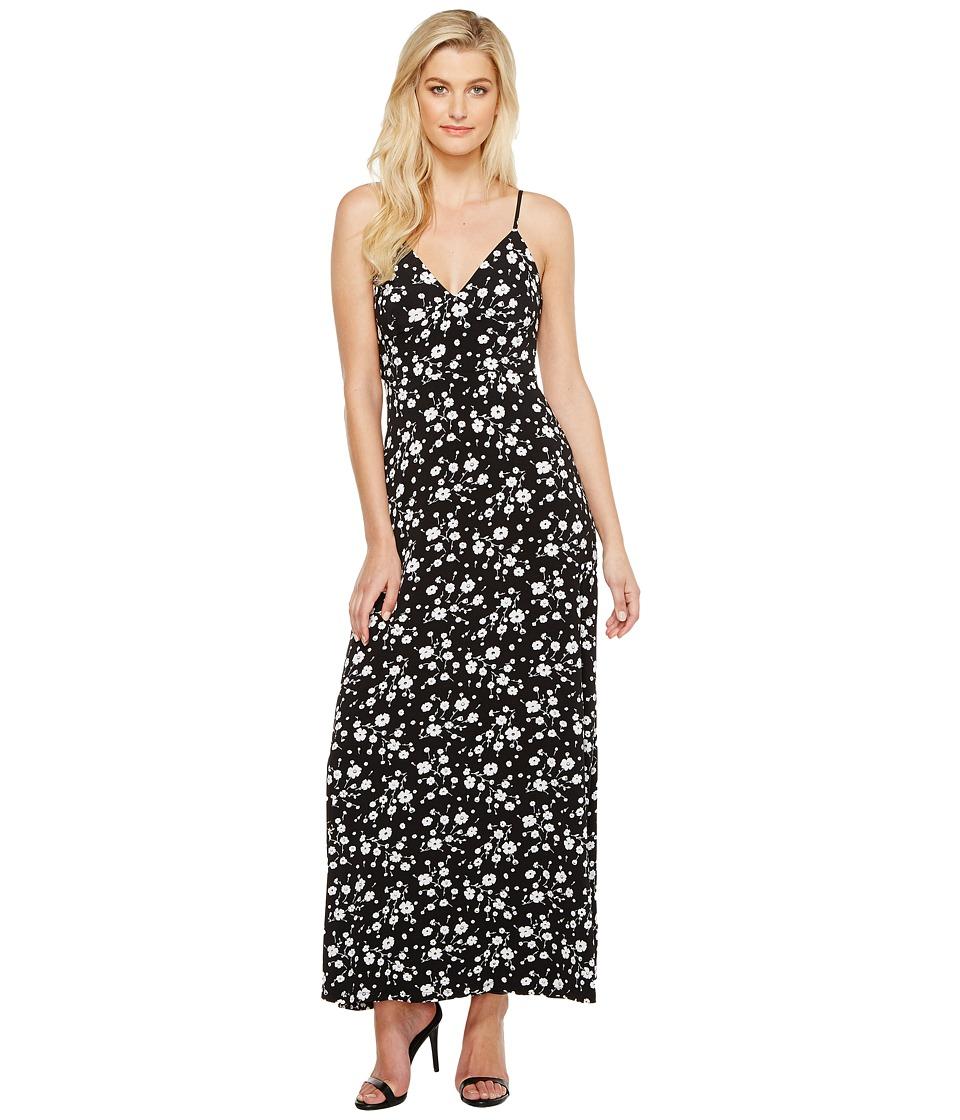 MICHAEL Michael Kors - Verbena Maxi Dress (Black) Women's Dress
