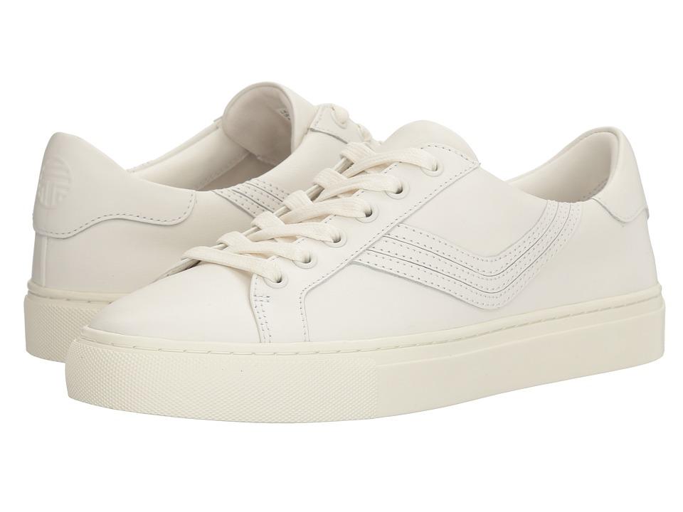 Tory Sport - Chevron Color Block Sneaker (Snow White/Snow White) Women's Shoes