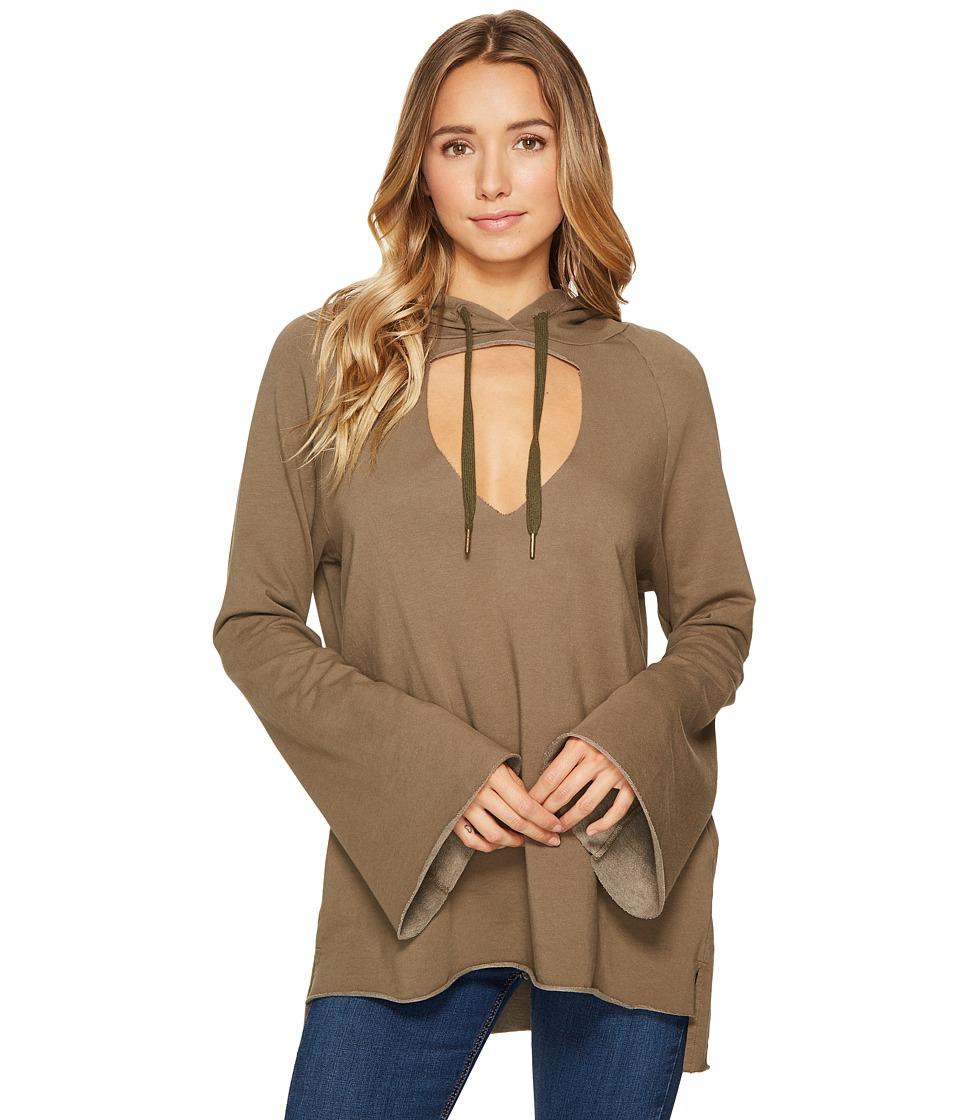 Project Social T - Roxanne Mini-Bell Hoodie (Army) Women's Sweatshirt