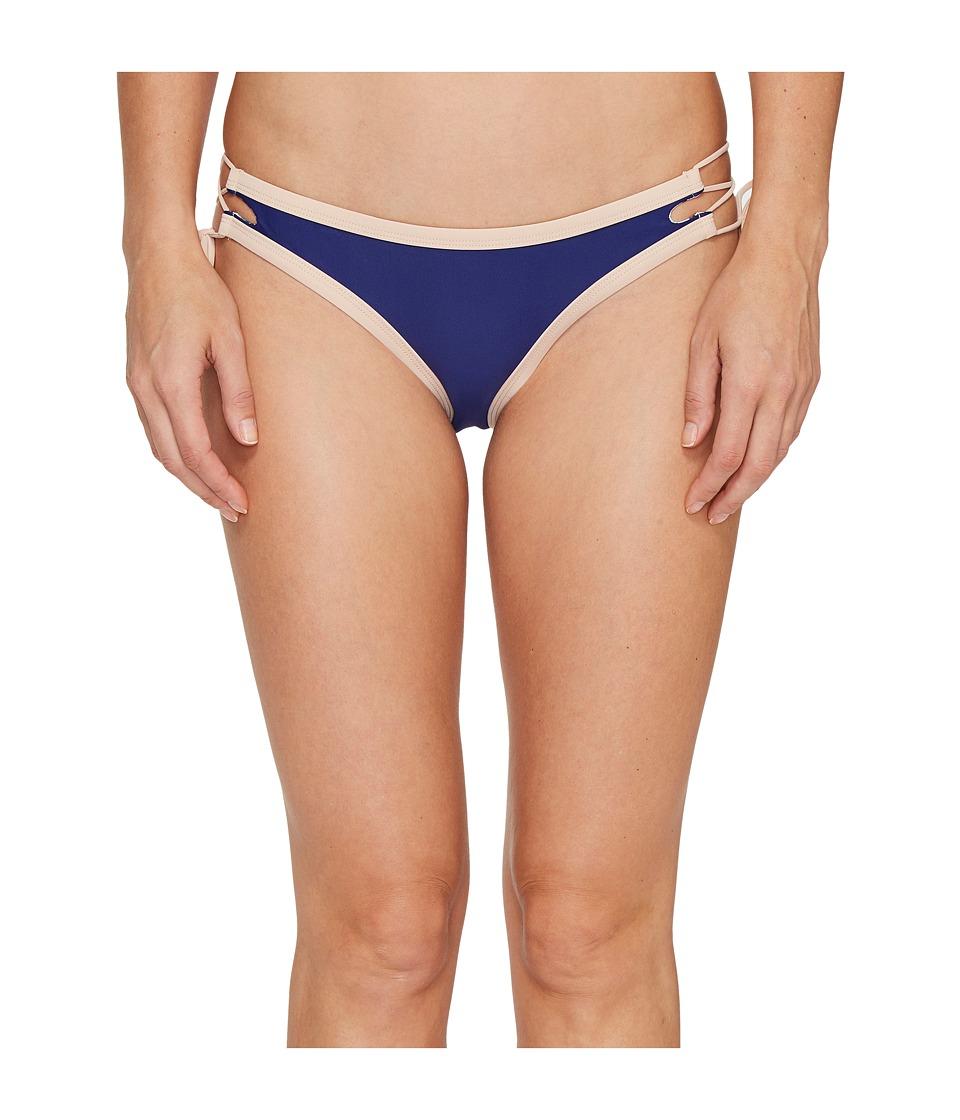 Body Glove - Seaway Tie Side Mia Bottoms (Midnight) Women's Swimwear