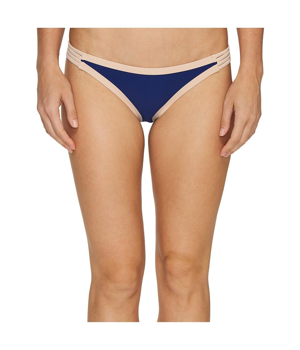 Body Glove - Seaway Flirty Surf Rider Bottoms (Midnight) Women's Swimwear