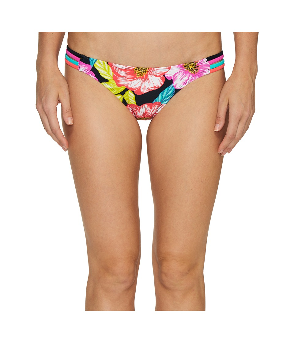 Body Glove - Sunlight Flirty Surf Rider Bottoms (Black) Women's Swimwear