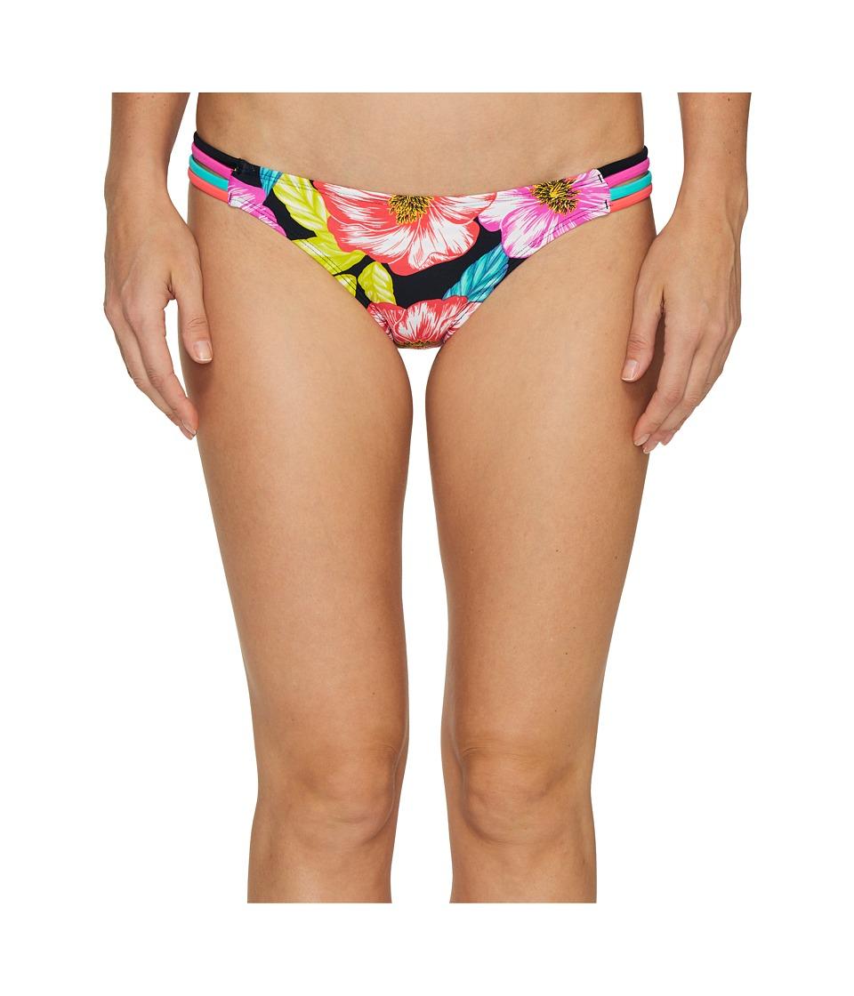 Body Glove - Sunlight Flirty Surf Rider Bottoms (Black) Women's Swimwear