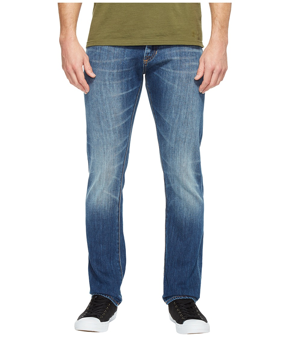 Jean Shop - Mick Slim Straight in Bay Bridge Selvedge (Bay Bridge) Men's Jeans