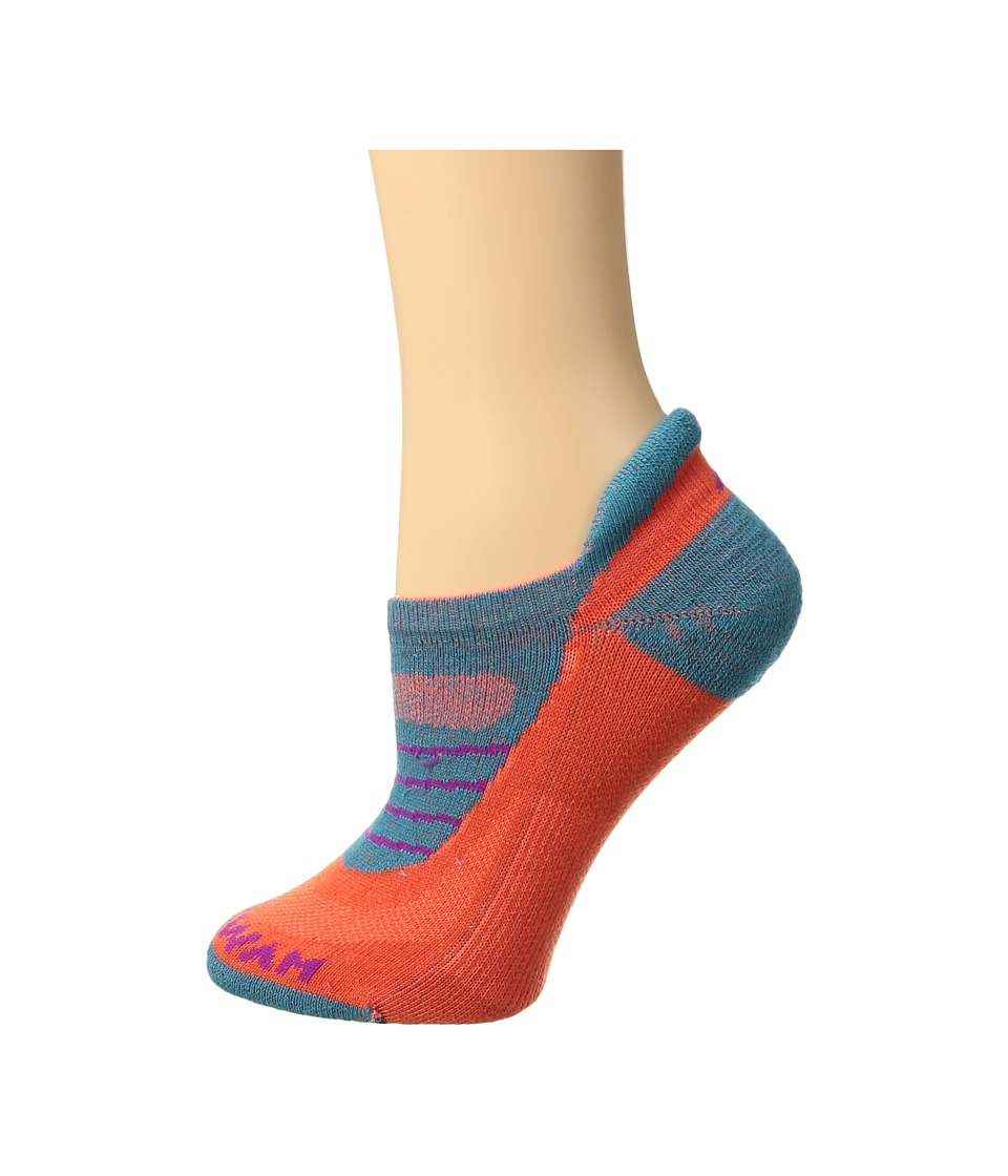 Wigwam - Vanquish Fusion NXT (Myan Spice) Women's Low Cut Socks Shoes
