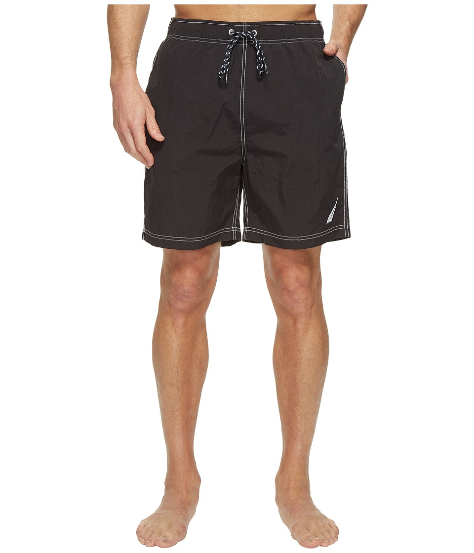 Nautica - Large J-Class Trunk (True Black) Men's Swimwear