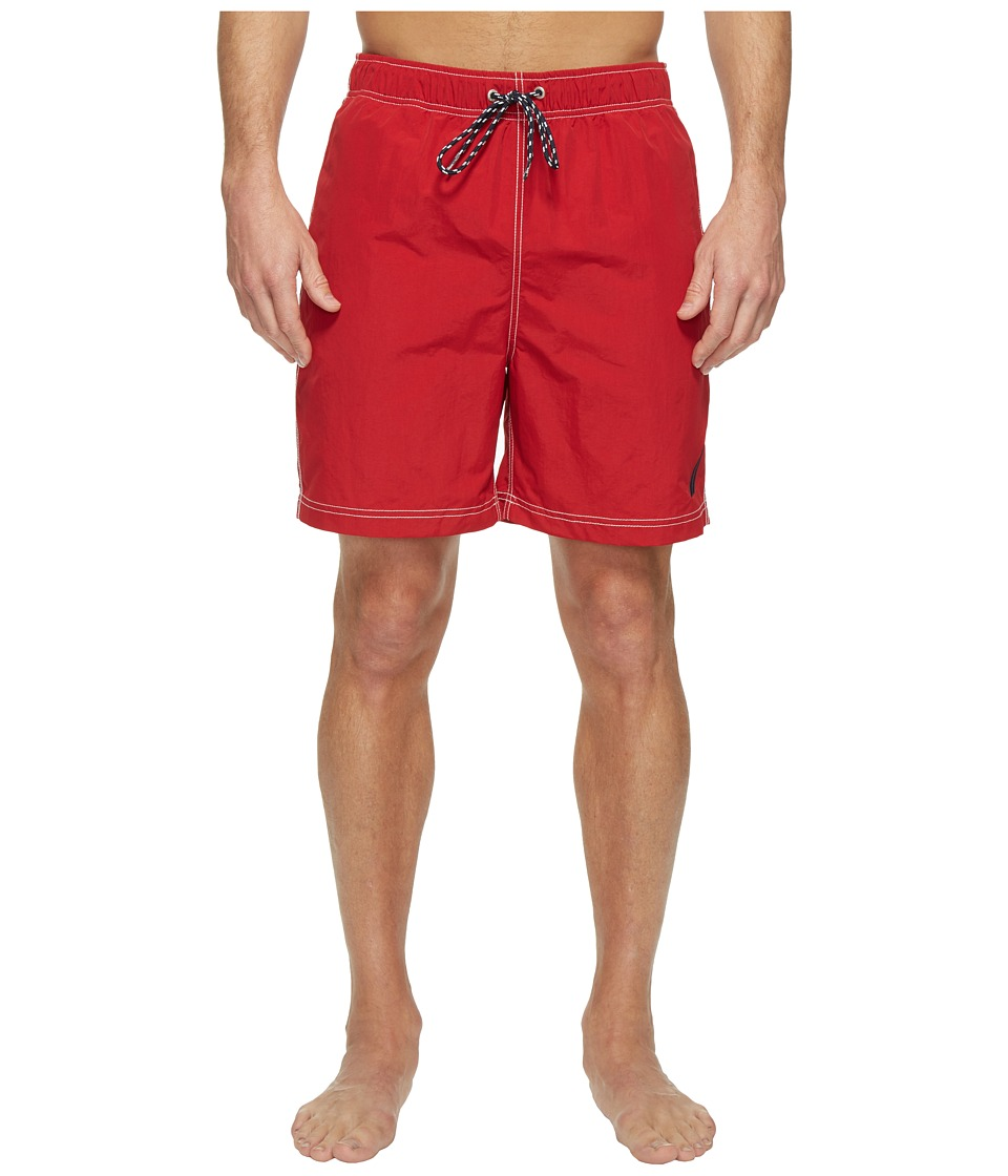 Nautica - Large J-Class Trunk (Nautica Red) Men's Swimwear