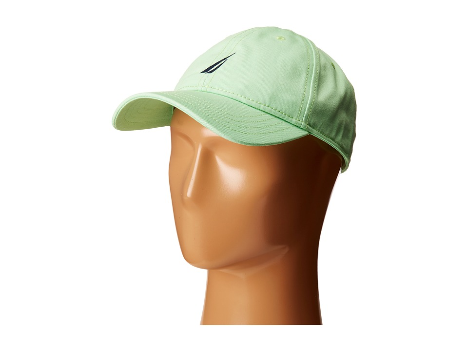 Nautica - Fashion Color J-Class Cap (Patina Green) Caps