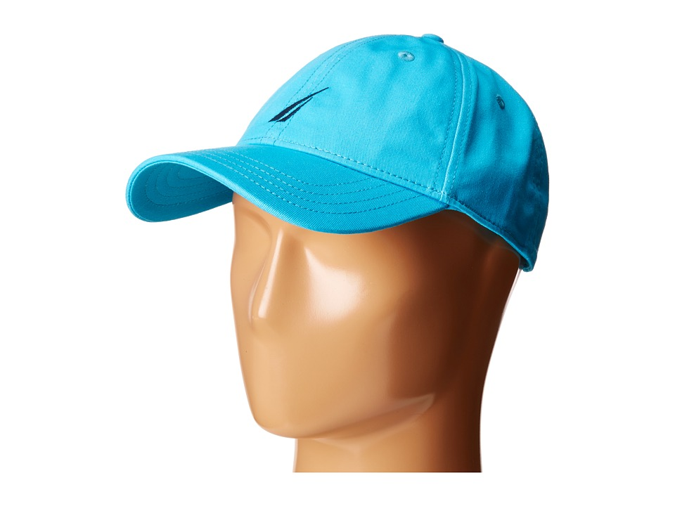Nautica - Fashion Color J-Class Cap (Calypso Blue) Caps