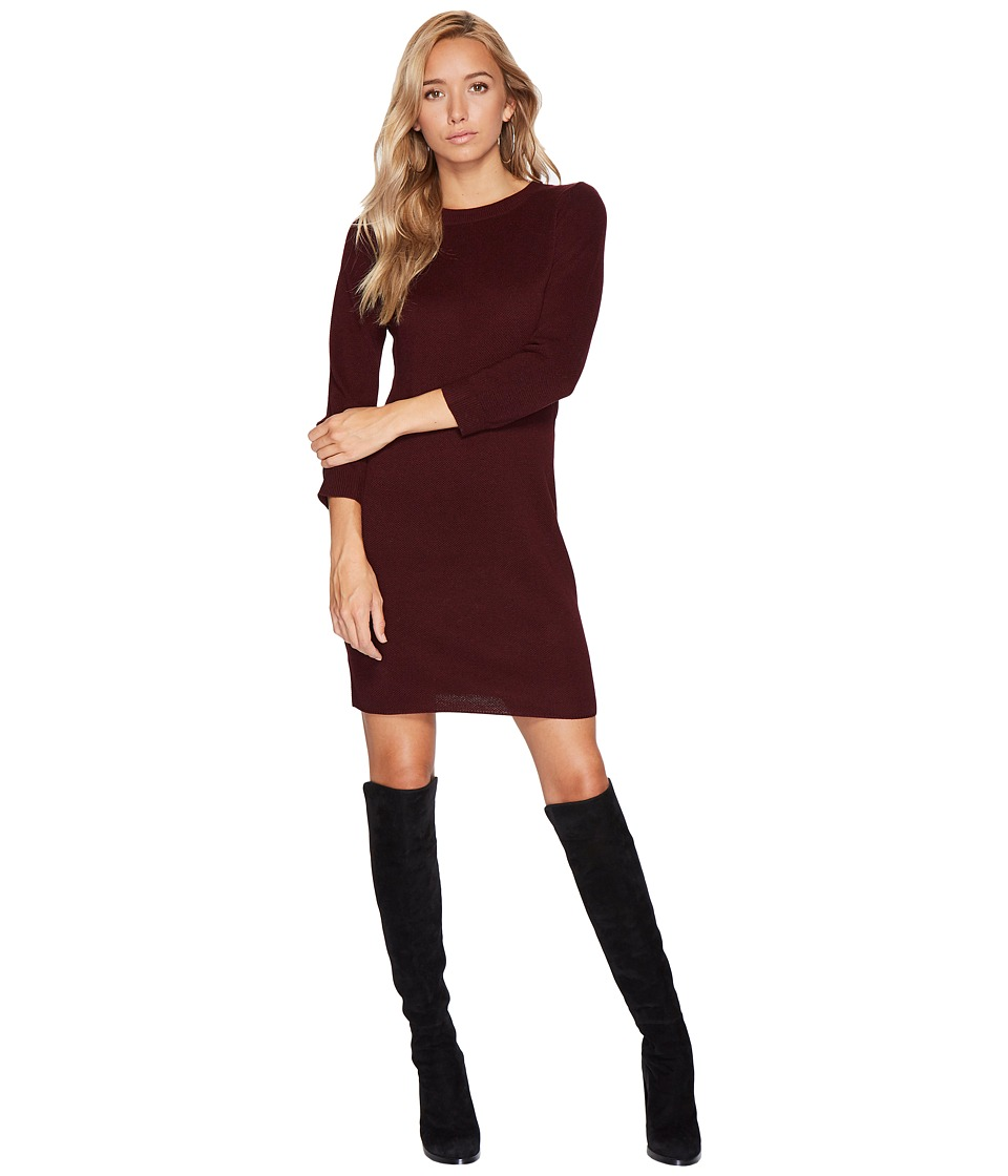Jack by BB Dakota - Marano Sweater Dress (Dark Fig) Women's Dress
