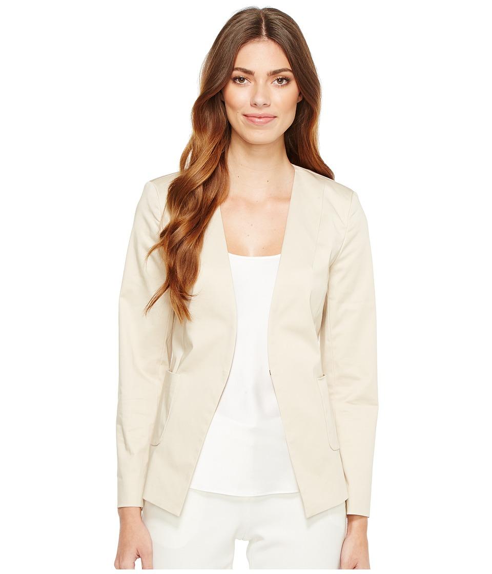Ellen Tracy - Angle Pocket Blazer (Jute) Women's Jacket