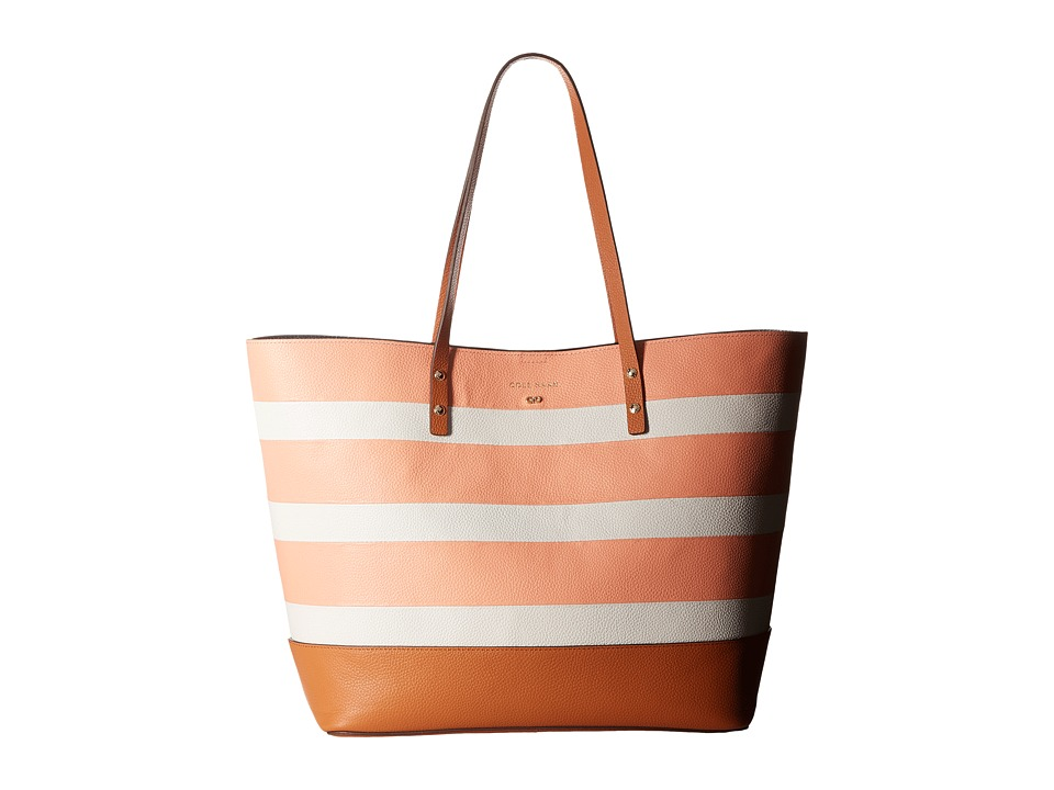 Cole Haan - Beckett Tote (Nectar/Ivory Stripe) Tote Handbags