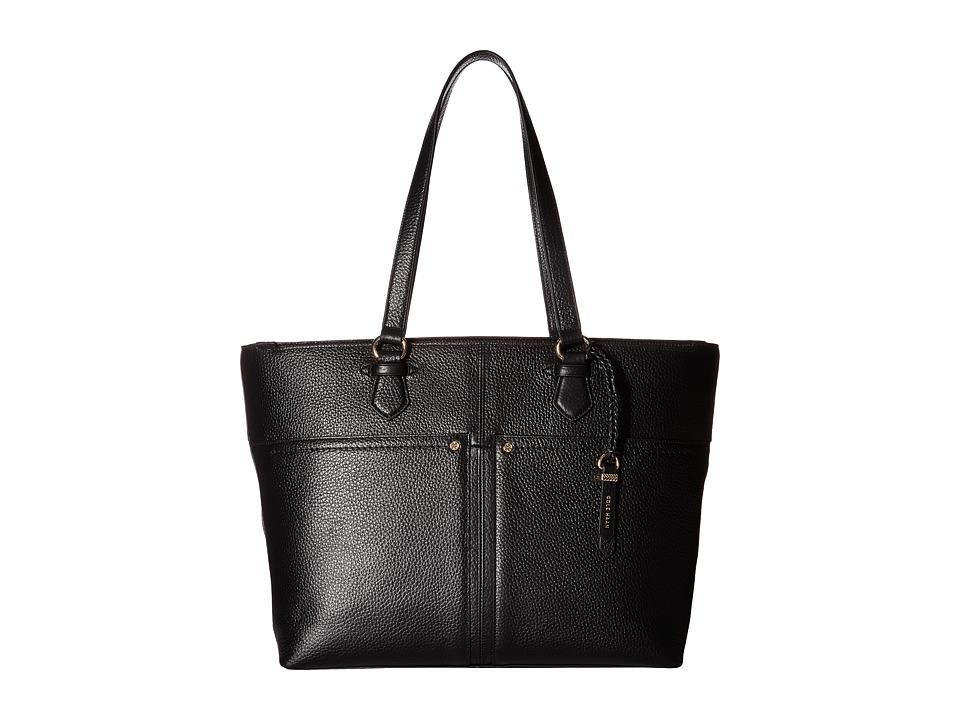 Cole Haan - Ilianna Work Tote (Black) Tote Handbags