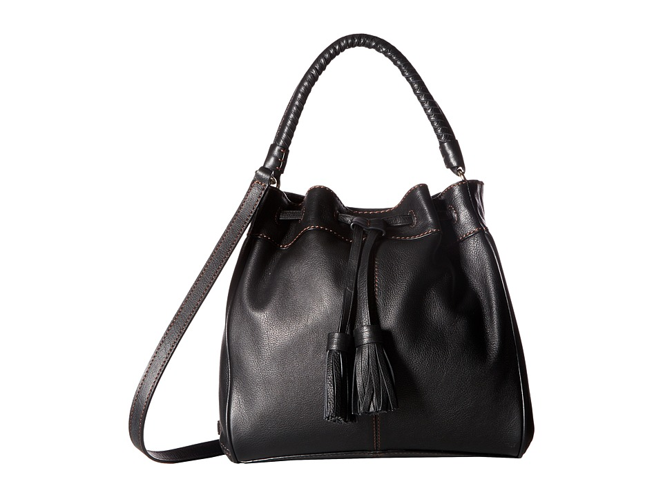 Cole Haan - Loveth Top-Handle Crossbody (Black) Cross Body Handbags