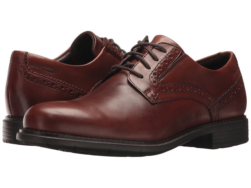 Rockport Total Motion Classic Dress Plain Toe (New Brown) Men