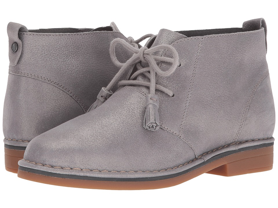Hush Puppies Cyra Catelyn (Grey Shimmer Leather) Women