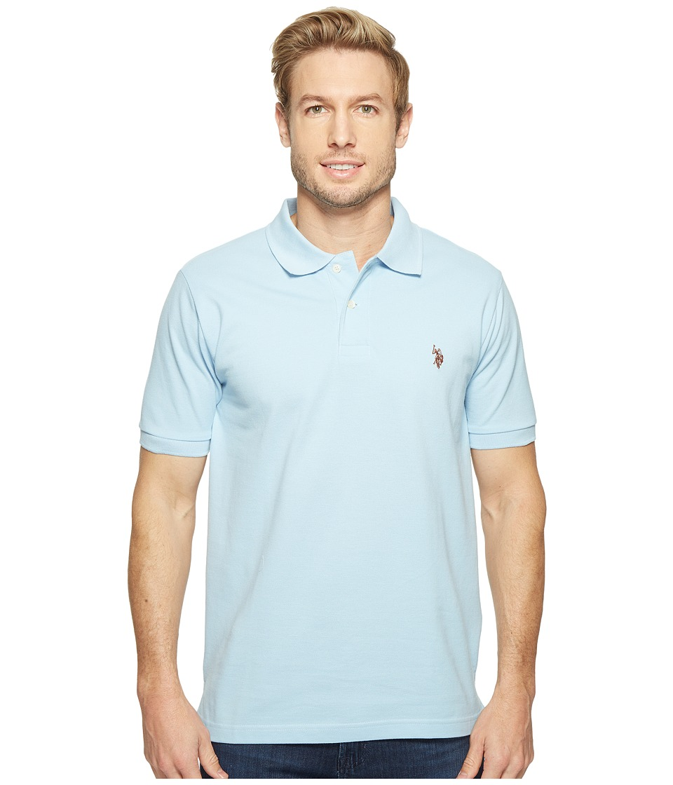 U.S. POLO ASSN. - Solid Cotton Pique Polo with Small Pony (Polo Carolina) Men's Short Sleeve Knit