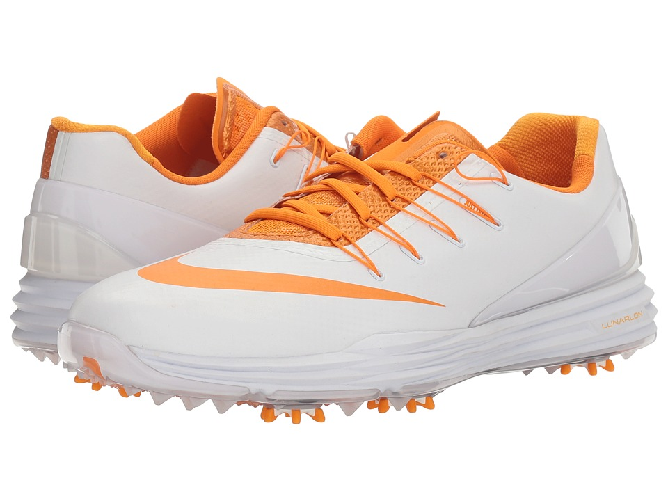 Nike Golf - Lunar Control 4 College (White/Bright Ceramic) Men's Golf Shoes