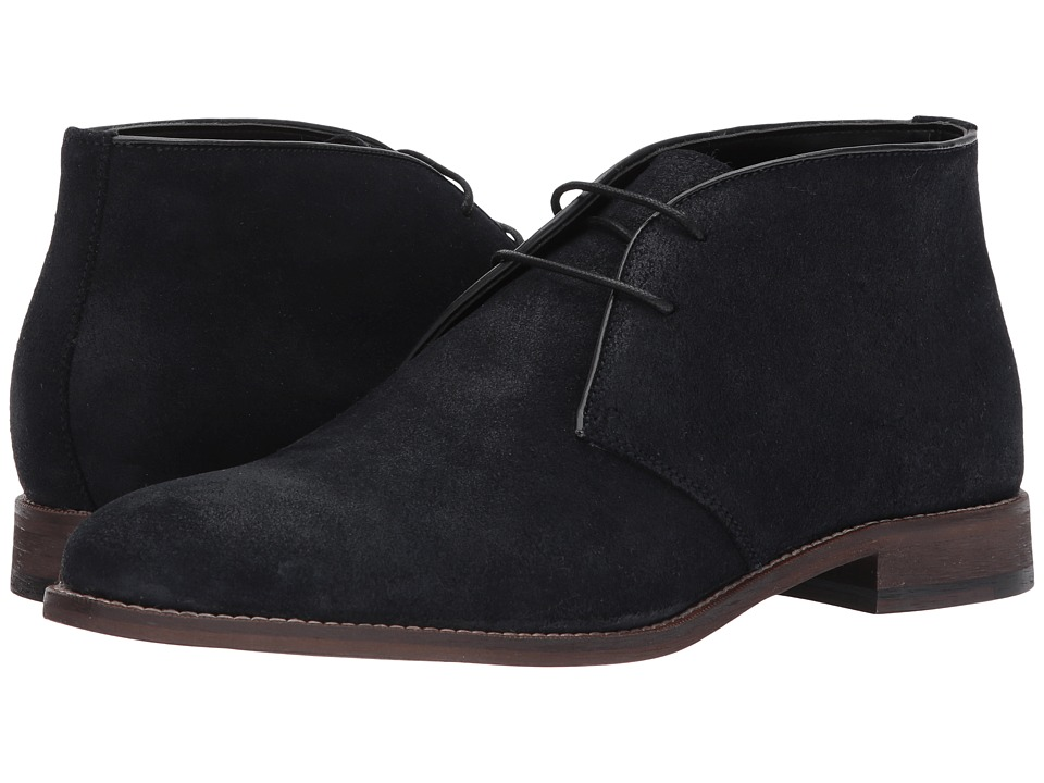 RUSH by Gordon Rush Dolan (Navy Waxy Suede) Men