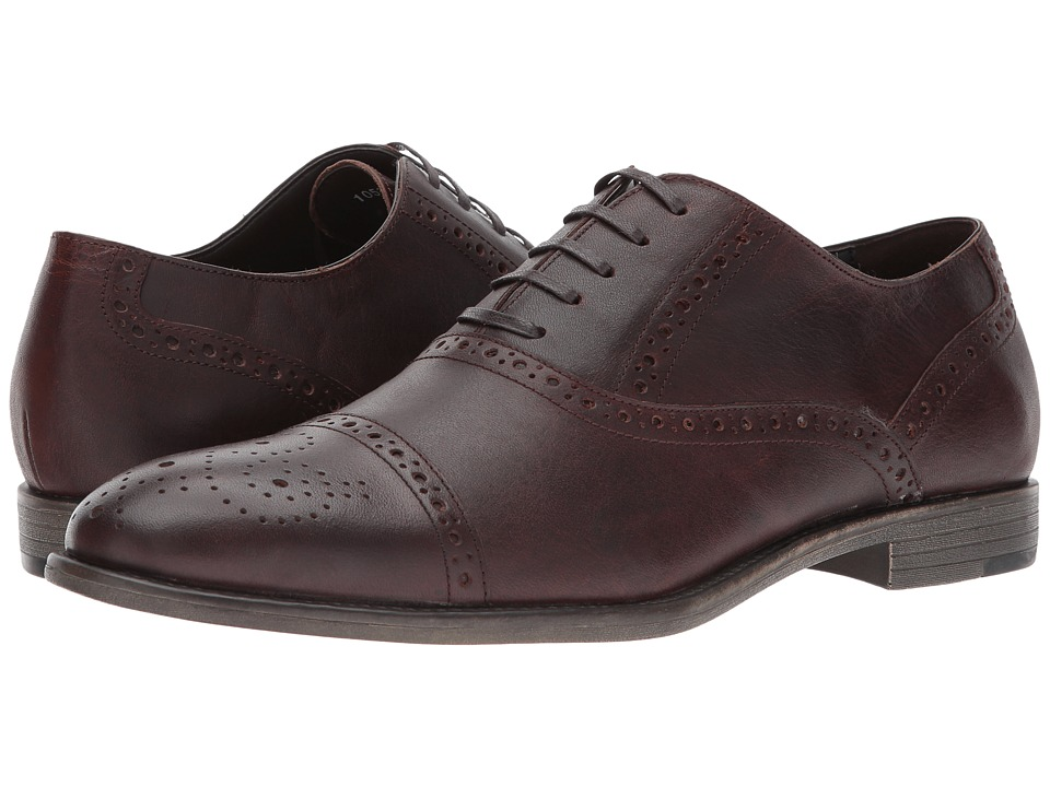 RUSH by Gordon Rush - Lydon (Dark Brown) Men's Shoes