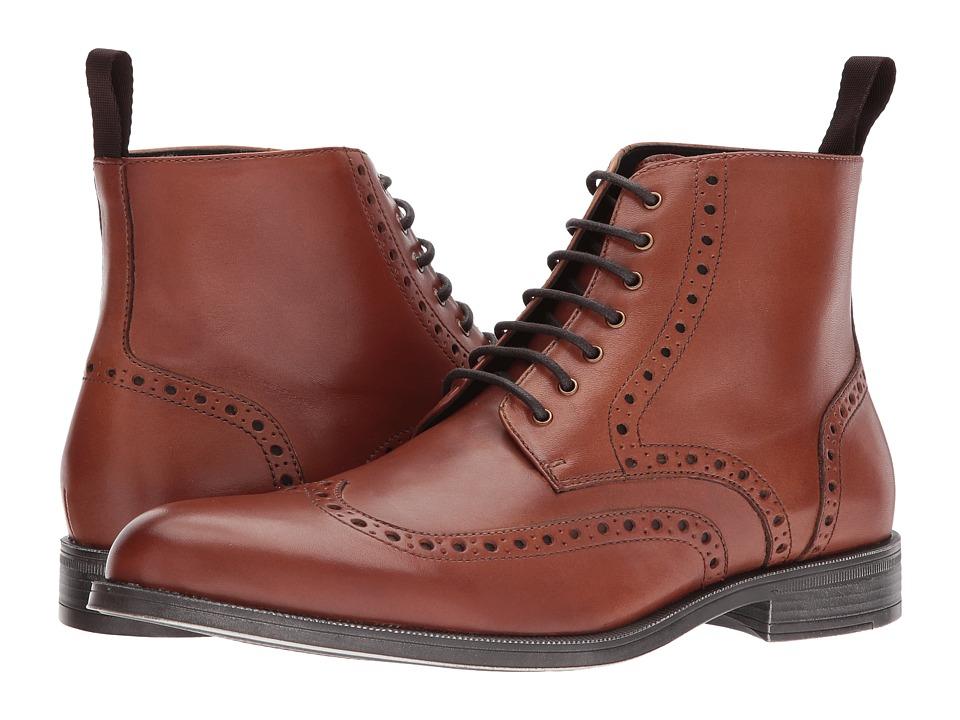 RUSH by Gordon Rush - Riley (Cognac) Men's Shoes