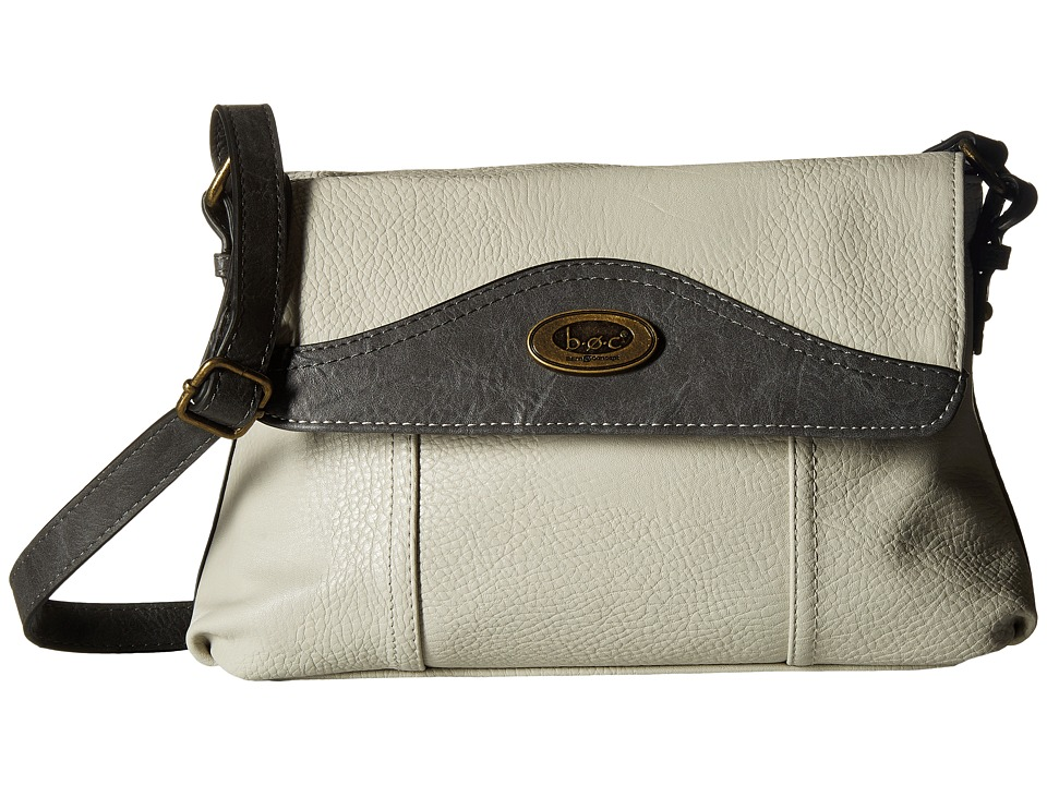 b.o.c. - Potomac Crossbody with Power Bank (Dove/Elephant) Cross Body Handbags