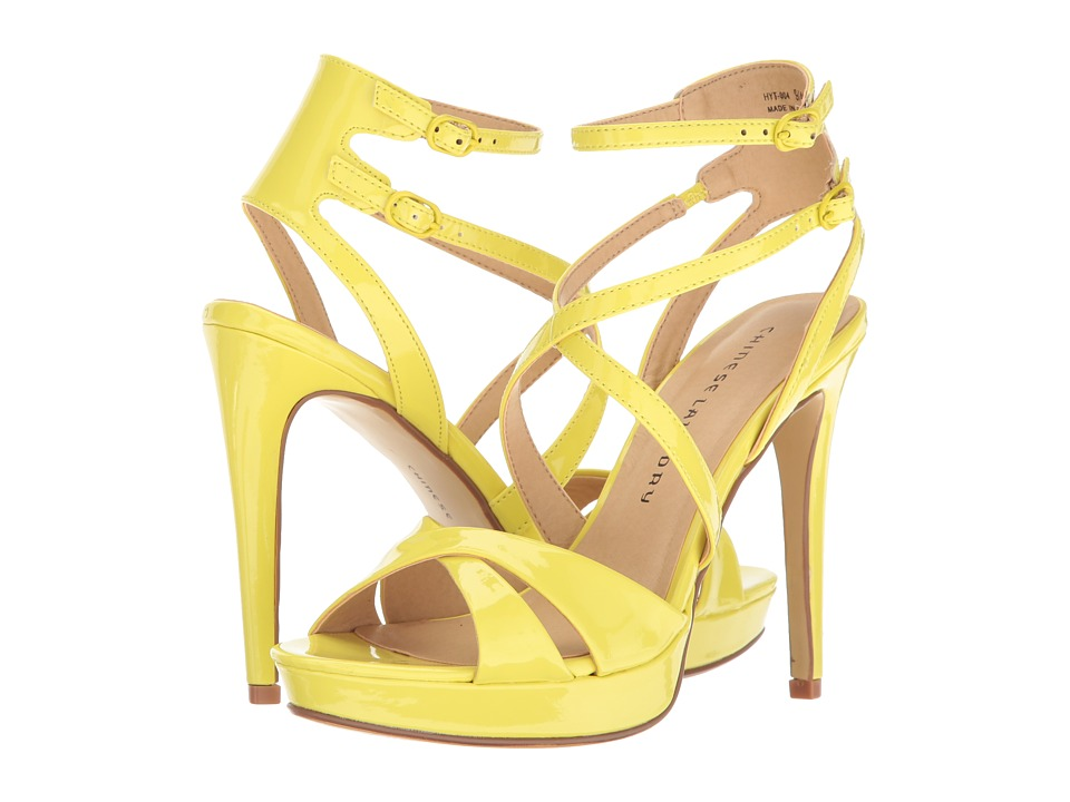 Chinese Laundry Highlight (Lemon) High Heels