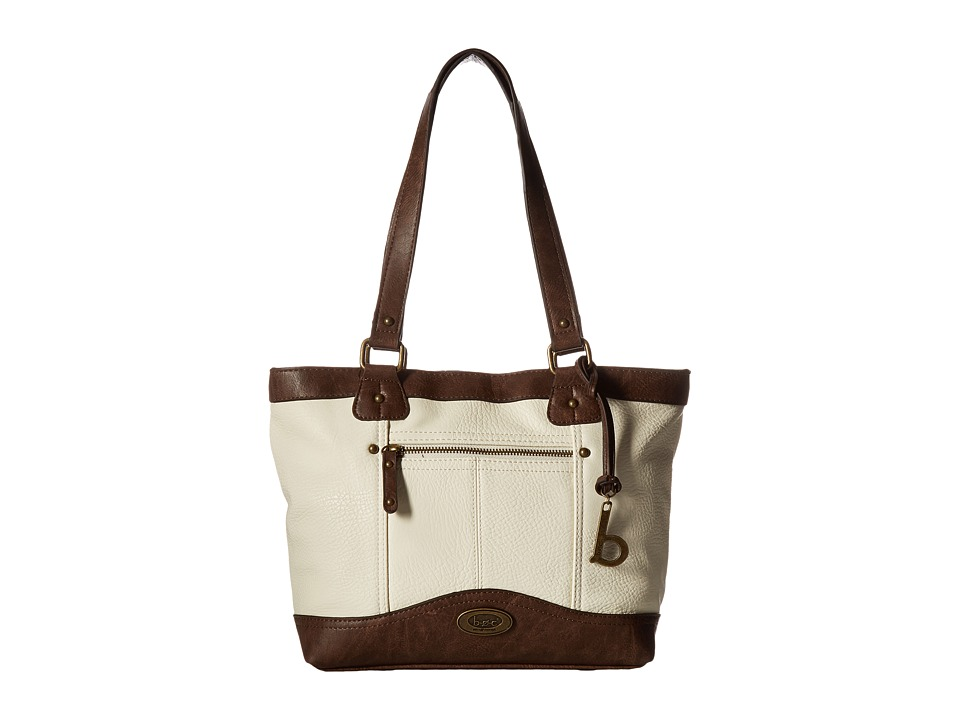 b.o.c. - Potomac Tote with Power Bank (Bone/Saddle) Tote Handbags