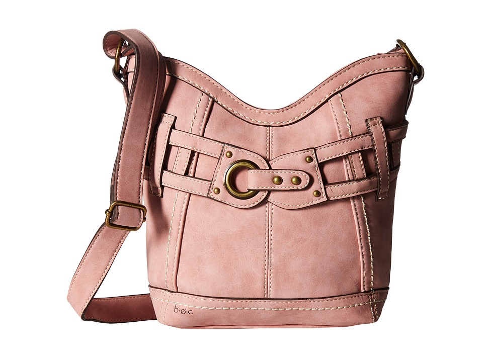 b.o.c. - Denton Crossbody (Dusty Pink) Cross Body Handbags