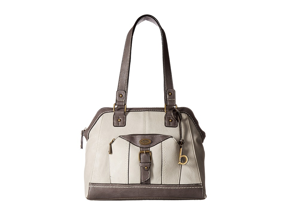 b.o.c. - Bal Harbour Power Bank Crossbody (Dove/Elephant) Cross Body Handbags