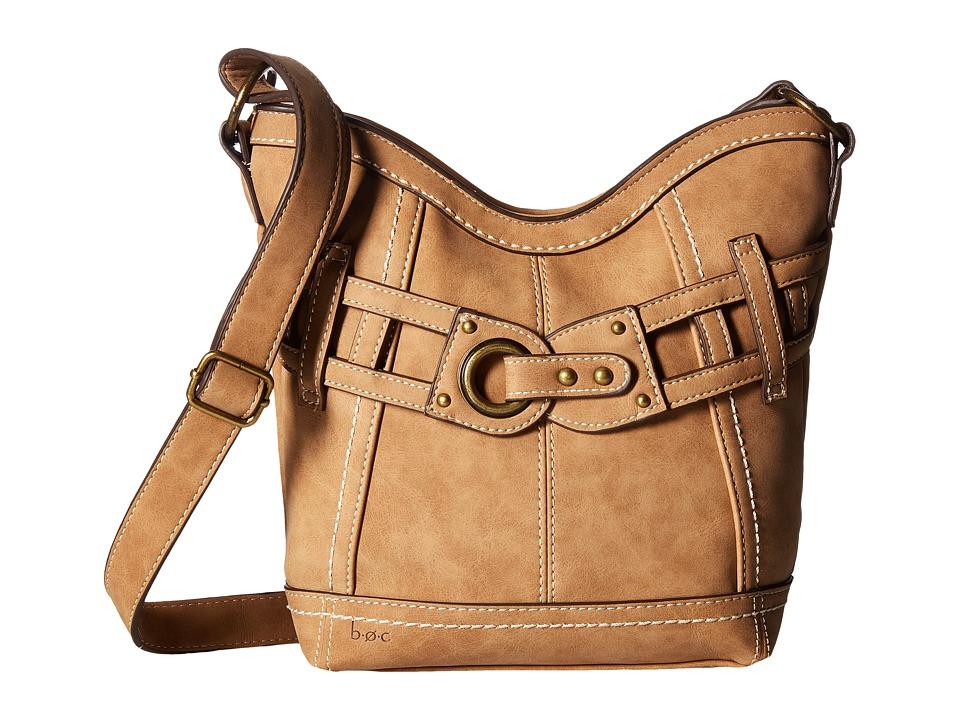 b.o.c. - Denton Crossbody (Saddle) Cross Body Handbags