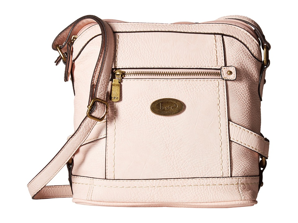 b.o.c. - Middleton Crossbody (Blush) Cross Body Handbags