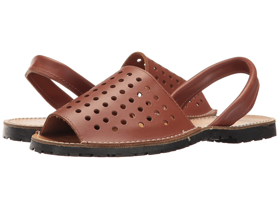 Sesto Meucci Ibizaholes (Tan Leather) Women