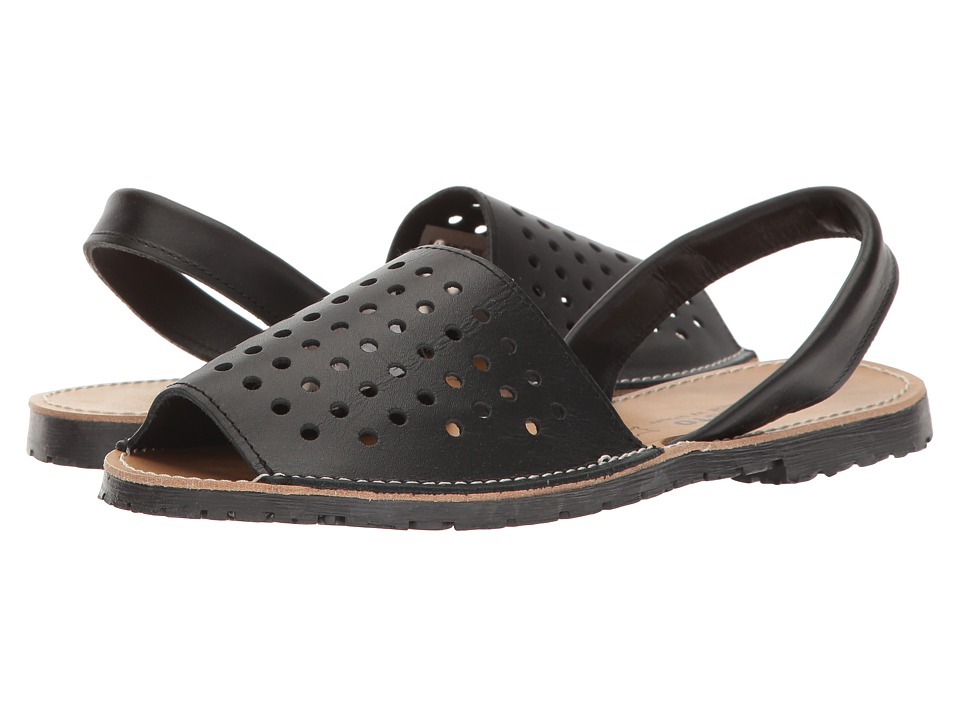 Sesto Meucci - Ibizaholes (Black Leather) Women's Shoes