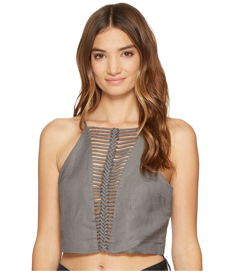 Dolce Vita - Lena Top (Gunmetal) Women's Clothing