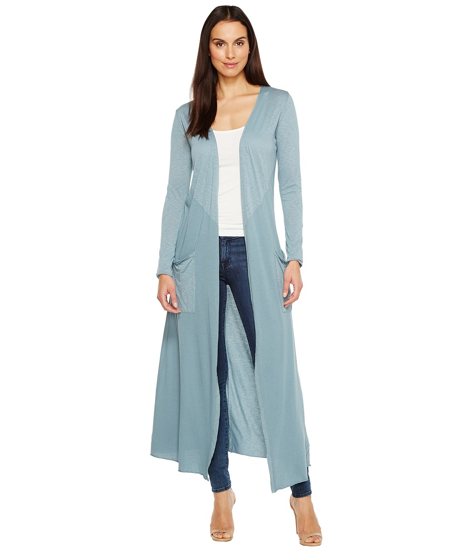 LAmade - Reed Duster Cardigan (Goblin Blue) Women's Sweater