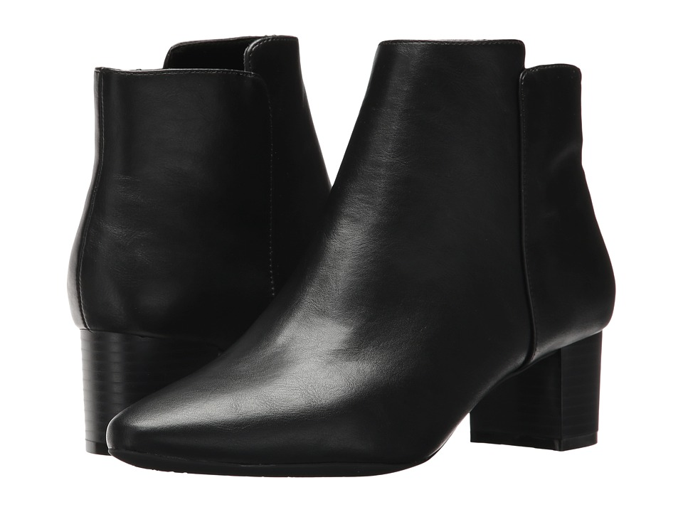 Rockport - Caden 2-Part Bootie (Black Smooth) Women's Boots
