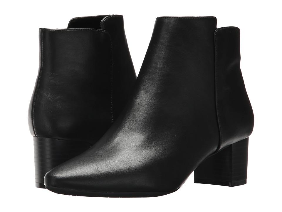 Rockport - Caden 2-Part Bootie (Black Smooth) Women's Boots
