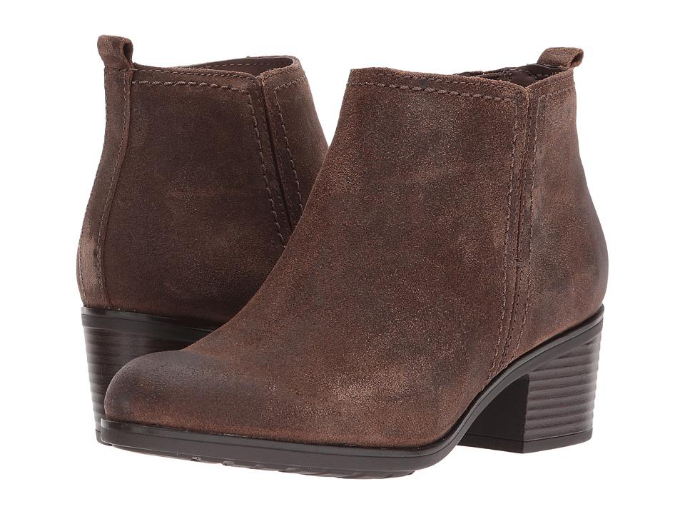 Rockport - Danii Side Zip (Clove) Women's Shoes