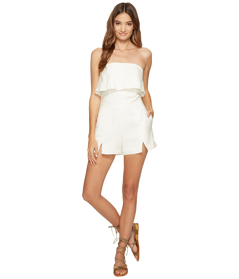 Dolce Vita - Nelson Romper (Optic White) Women's Jumpsuit & Rompers One Piece