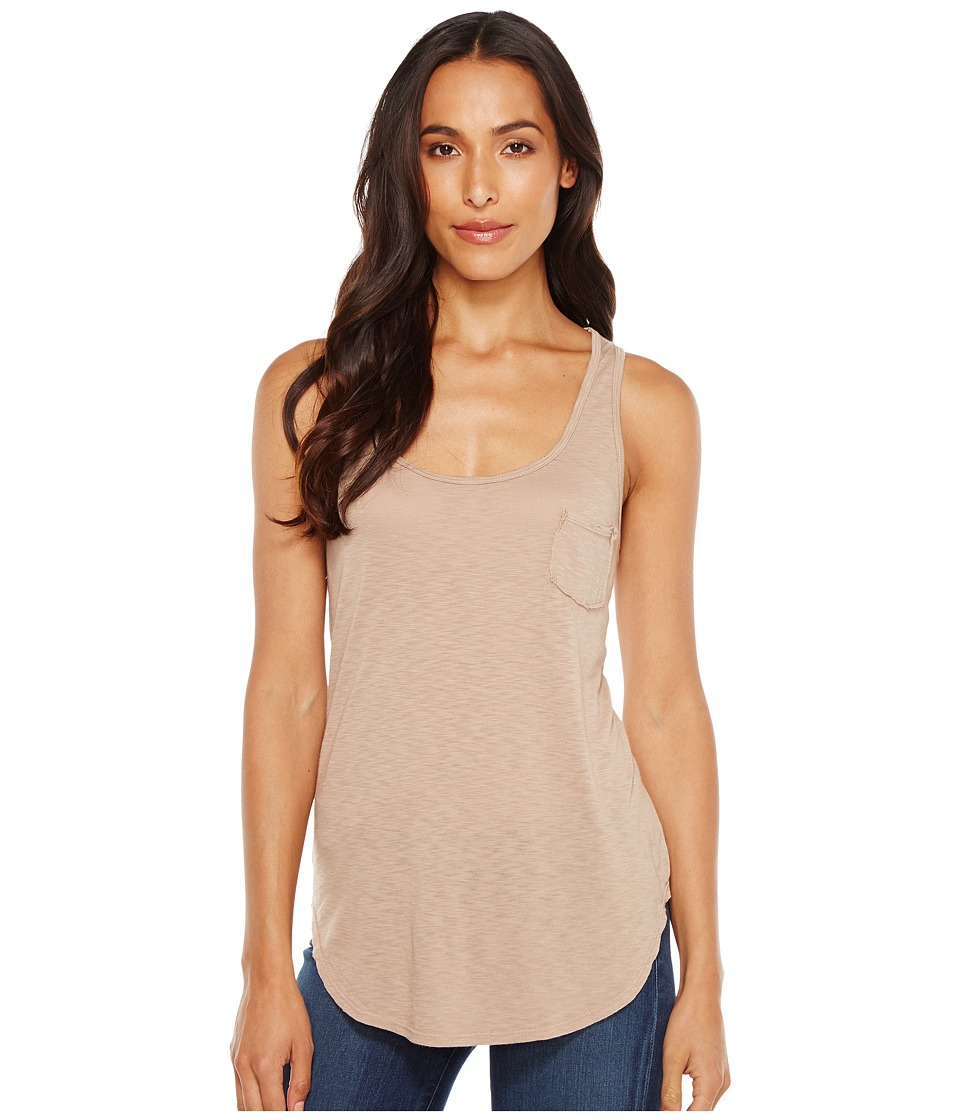 LAmade - Boyfriend Tank w/ Pocket (Dune) Women's Sleeveless