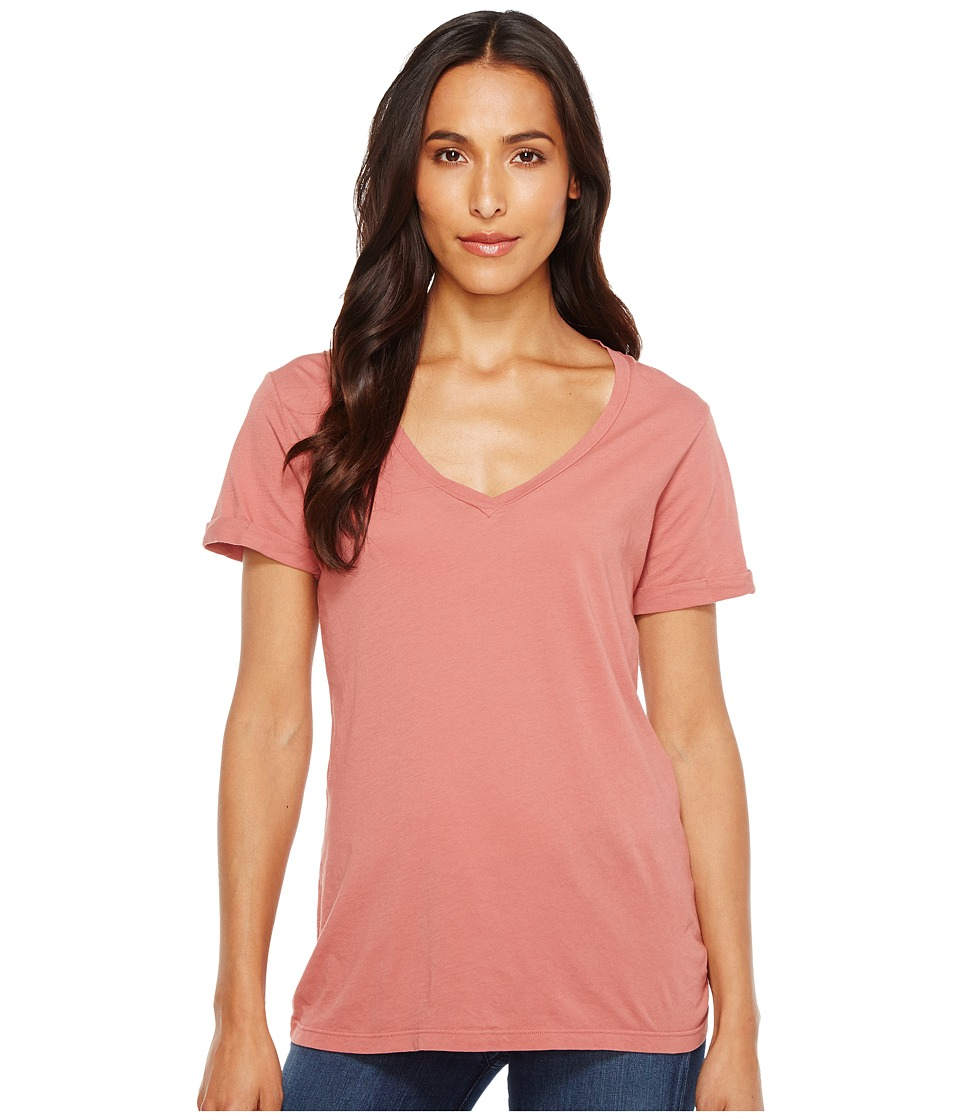 LAmade - Staple V S/S Tee (Withered Rose) Women's T Shirt