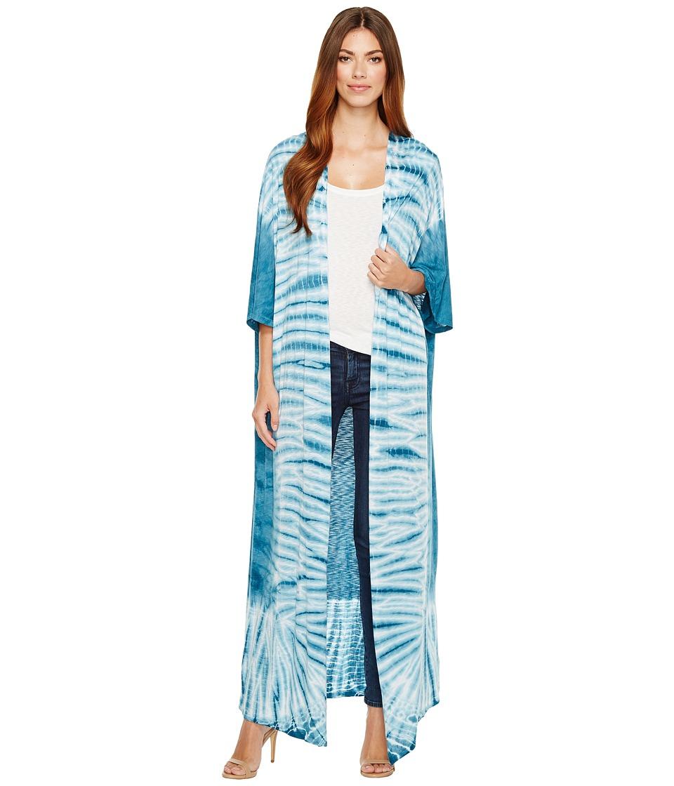 LAmade - Caravan Kimono (Ink Blue) Women's Clothing