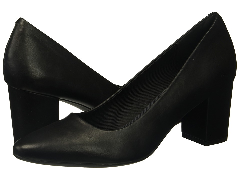 Rockport - Gail Pump (Black Smooth) Women's Shoes