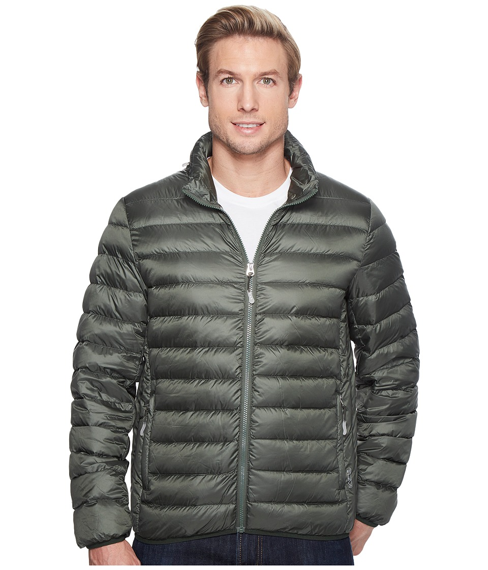 Tumi - Patrol Packable Travel Puffer Jacket (Moss) Men's Coat