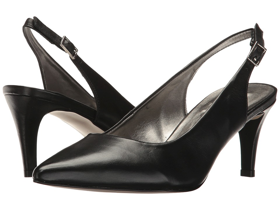 Walking Cradles - Sidney (Black Leather) High Heels