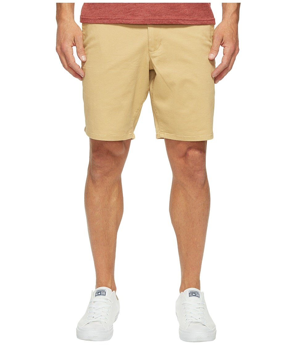Dockers Premium - Broken in Chino Straight Fit Shorts (Golden) Men's Shorts