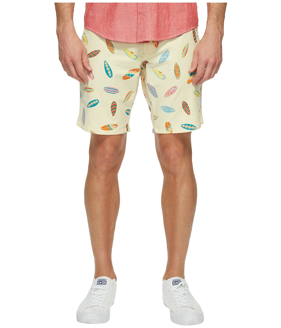 Dockers Premium - Broken in Chino Straight Fit Shorts (Lemon Drop) Men's Shorts