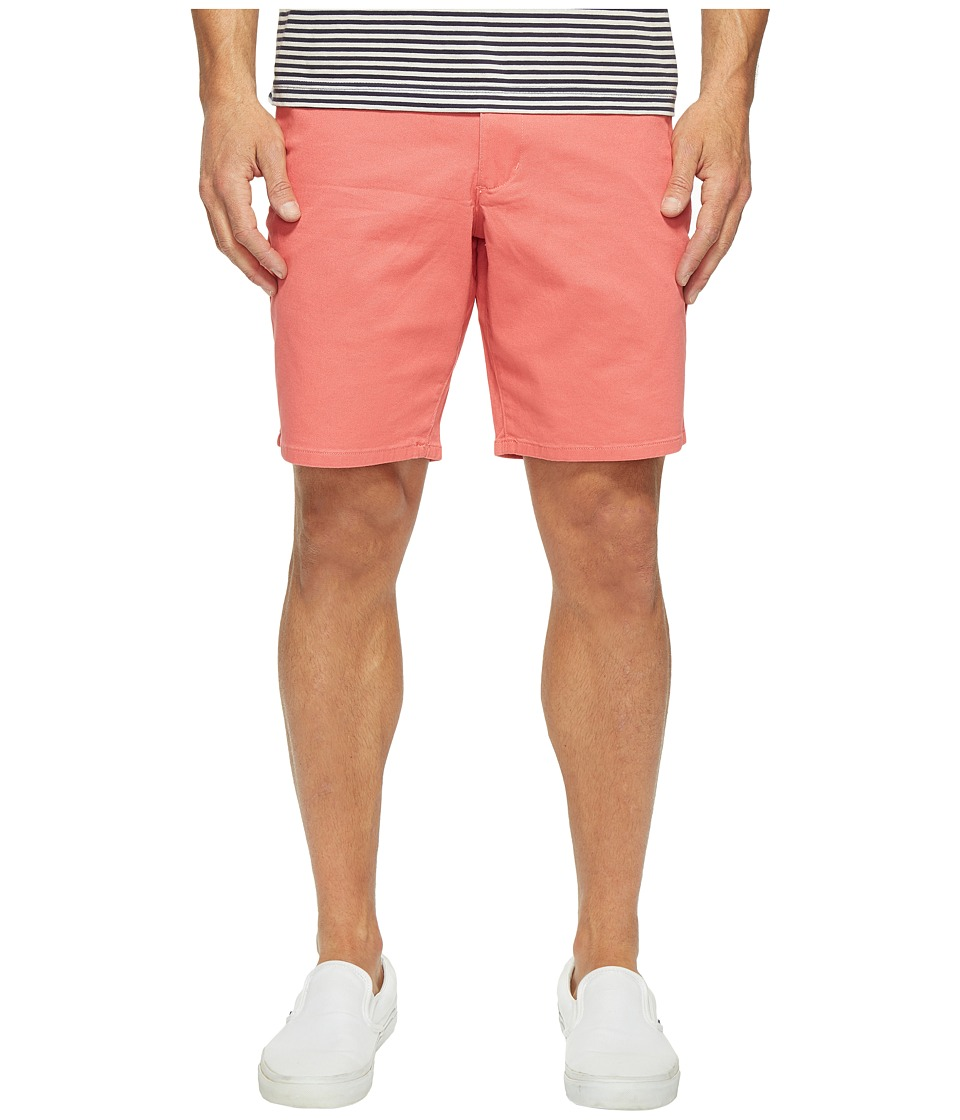 Dockers Premium - Broken in Chino Straight Fit Shorts (Coral Sunset) Men's Shorts